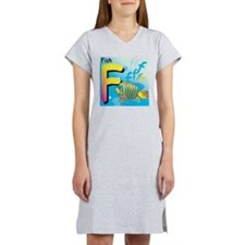F for Fish Women's Nightshirt