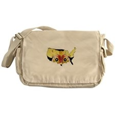 National Moth Week Messenger Bag