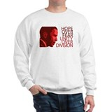 Obama Red Tones  Sweatshirt