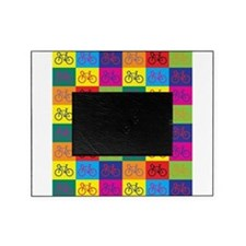 Pop Art Bicycle Picture Frame