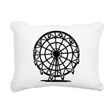 Ferris Wheel Rectangular Canvas Pillow