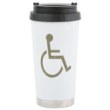 Vintage Wheel Chair Travel Mug