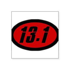 13.1 Oval Sticker