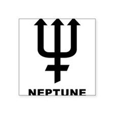 "Neptune Square Sticker 3"" x 3"""