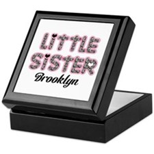 Custom little sister Keepsake Box