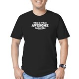 This is what awesome looks like ~ Black T-shirt T-