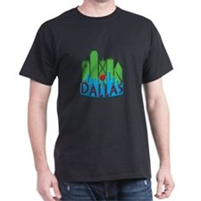 Dallas Skyline NewWave Primary T-Shirt