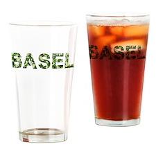 Basel, Vintage Camo, Drinking Glass