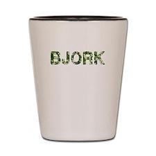 Bjork, Vintage Camo, Shot Glass
