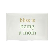 bliss is being a mom Rectangle Magnet (10 pack)