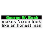 Bush makes Nixon look honest Sticker