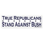 Republicans against Bush Bumper Sticker
