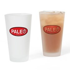 Paleo Power Oval Drinking Glass