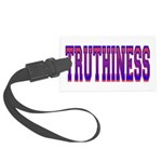 Truthiness.png Large Luggage Tag