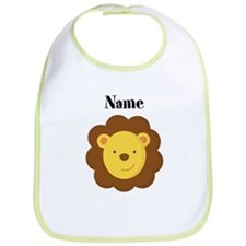Personalized Lion Bib