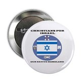 "Christians for Israel 2.25"" Button (10 pack)"