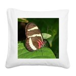 Butterfly pic.png Square Canvas Pillow