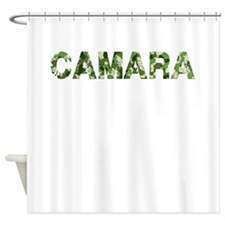 Camara, Vintage Camo, Shower Curtain
