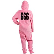 666.png Footed Pajamas