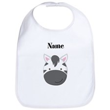 Personalized Zebra Bib