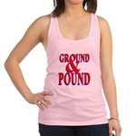 Ground & Pound.png Racerback Tank Top