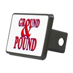 Ground & Pound.png Rectangular Hitch Cover
