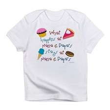 Funny Nana and papa Infant T-Shirt