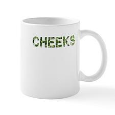 Cheeks, Vintage Camo, Mug