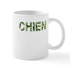 Chien, Vintage Camo, Mug