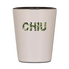 Chiu, Vintage Camo, Shot Glass