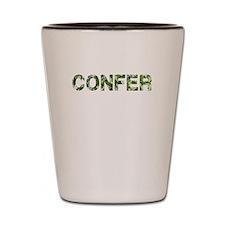 Confer, Vintage Camo, Shot Glass