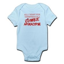 Christmas Zombie Apocalypse Infant Bodysuit