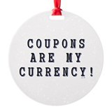 COUPON Ornament
