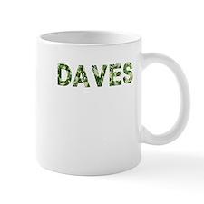 Daves, Vintage Camo, Mug