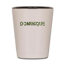 Dominique, Vintage Camo, Shot Glass