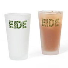 Eide, Vintage Camo, Drinking Glass