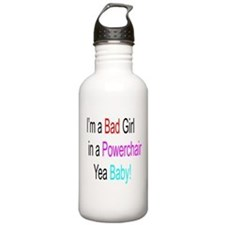 Im a Bad Girl #1 Water Bottle