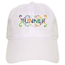 Colorful Runner Baseball Cap