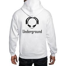 Underground Alien Head DJ Hoodie