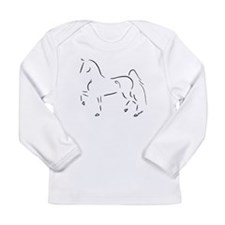 Stylized 3-Gaited American Saddlebred Long Sleeve