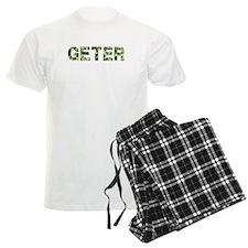 Geter, Vintage Camo, Pajamas