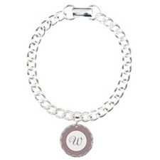 Plum Pudding Monogram Bracelet