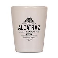 Alcatraz S.T.U. Shot Glass