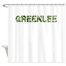Greenlee, Vintage Camo, Shower Curtain