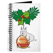 Westie on Ornament Journal