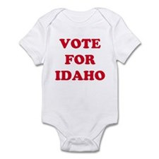 VOTE FOR IDAHO Infant Bodysuit