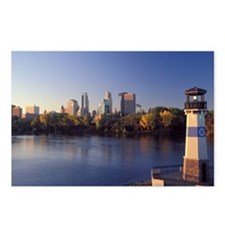 Unique Minneapolis art Postcards (Package of 8)