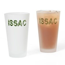 Issac, Vintage Camo, Drinking Glass