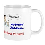 Prevent Child Abuse Mug