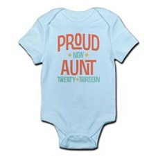 Proud New Aunt 2013 Infant Bodysuit